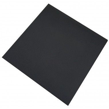 Rubber Gym Tiles 1m x 1m Black