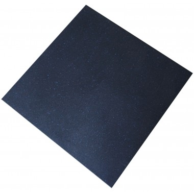 Rubber Floor Tiles Blue Fleck