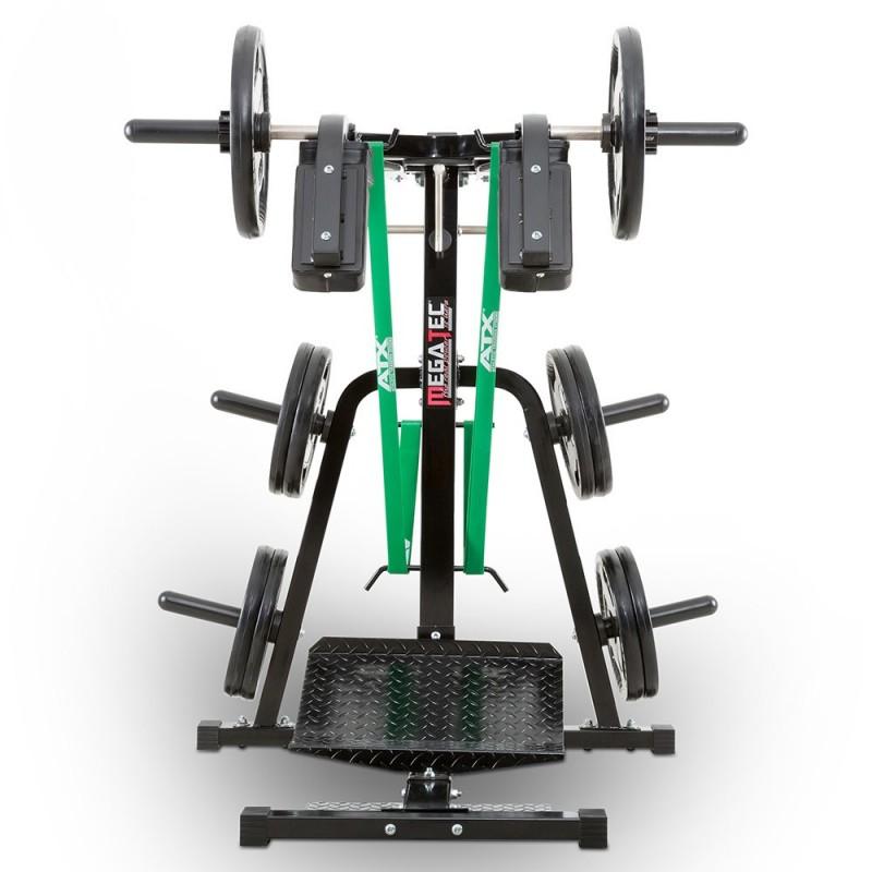 Megatec squat calf machine mt sq ca squat hard squat for Squat station