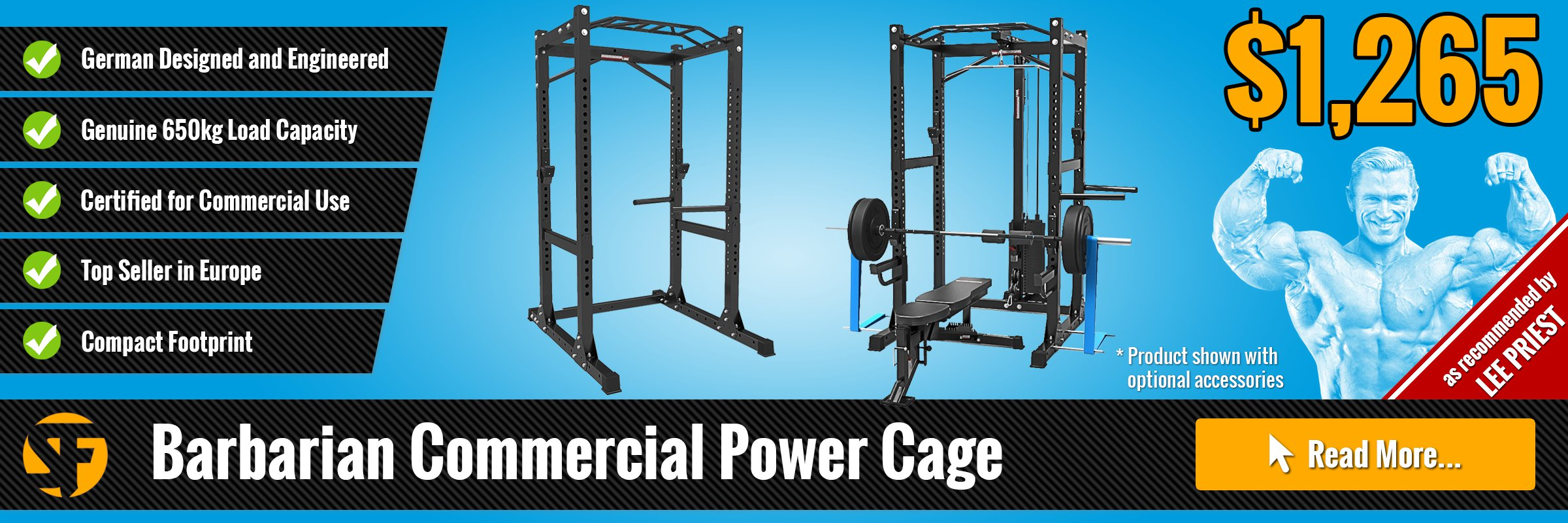 Power Racks and Cages by Barbarian