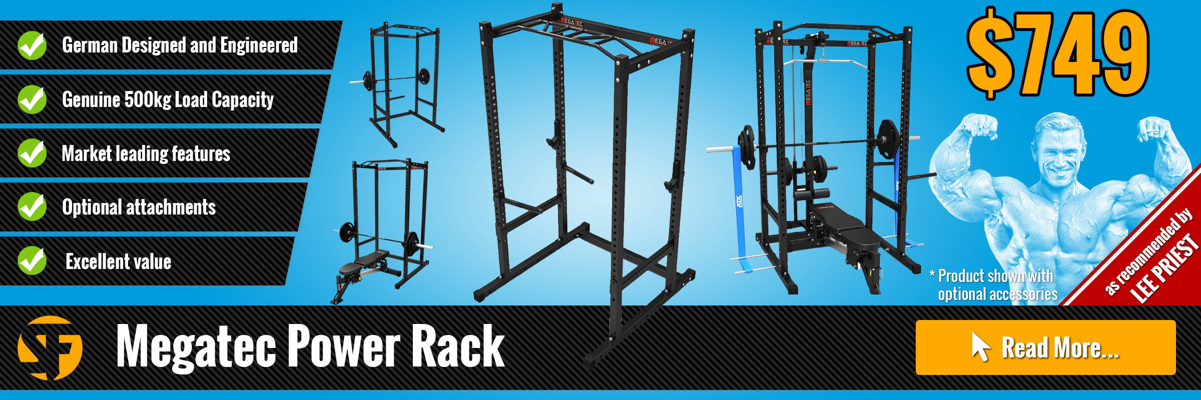 Power Racks and Cages by Megatec