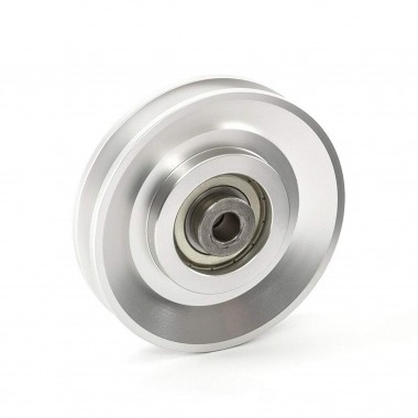 Aluminium Cable Pulley 90mm
