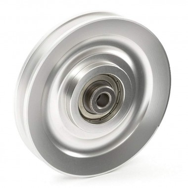 Gym Pulleys & Rollers | Aluminium or Nylon, Bearing Driver