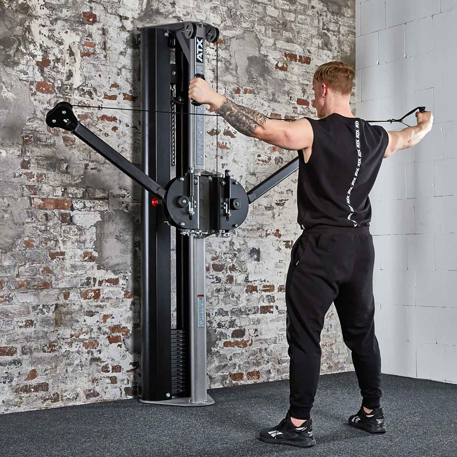 dual arm functional trainer