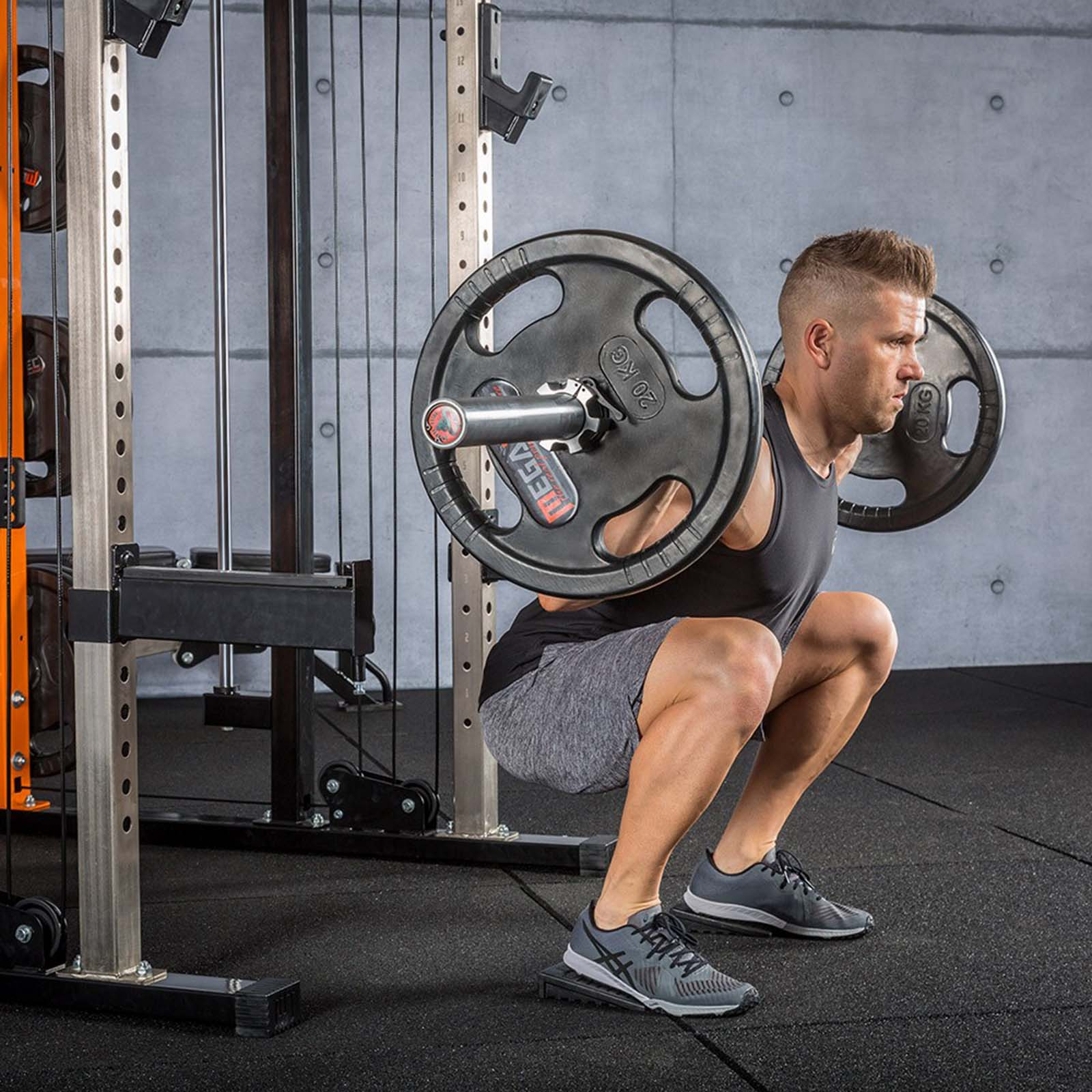 elevated squat blocks