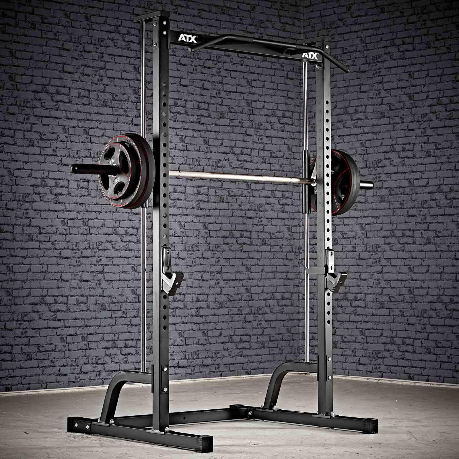 smith machine half rack gym