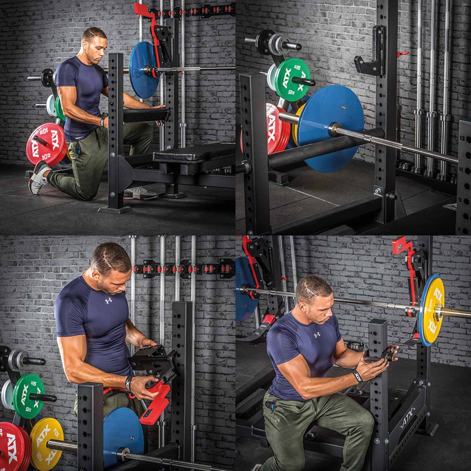 monolift bench press