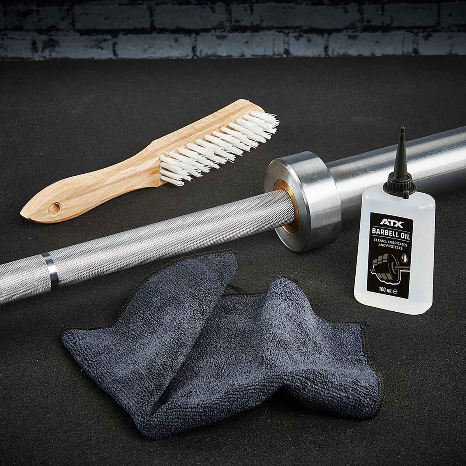 barbell cleaning set