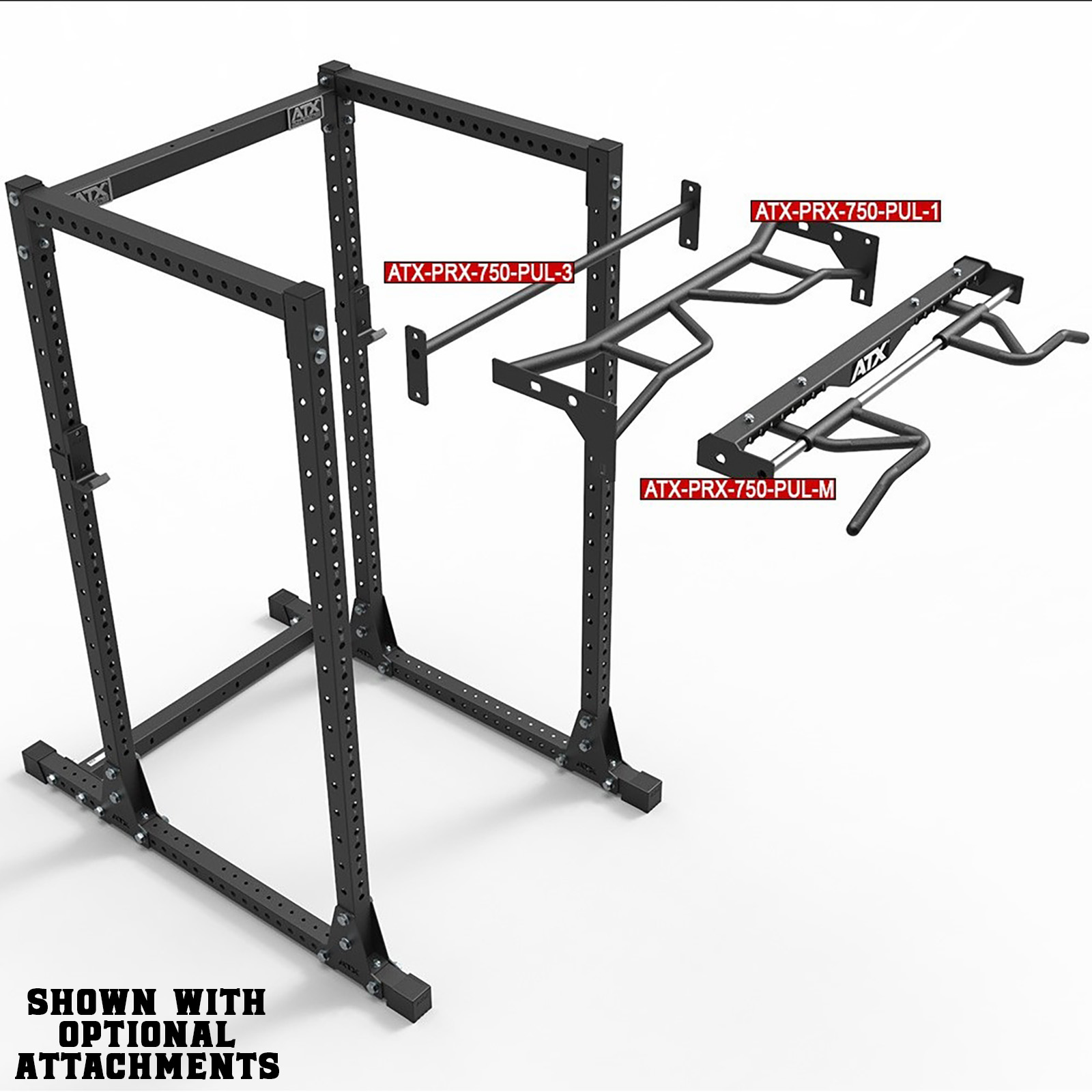 weight training rack