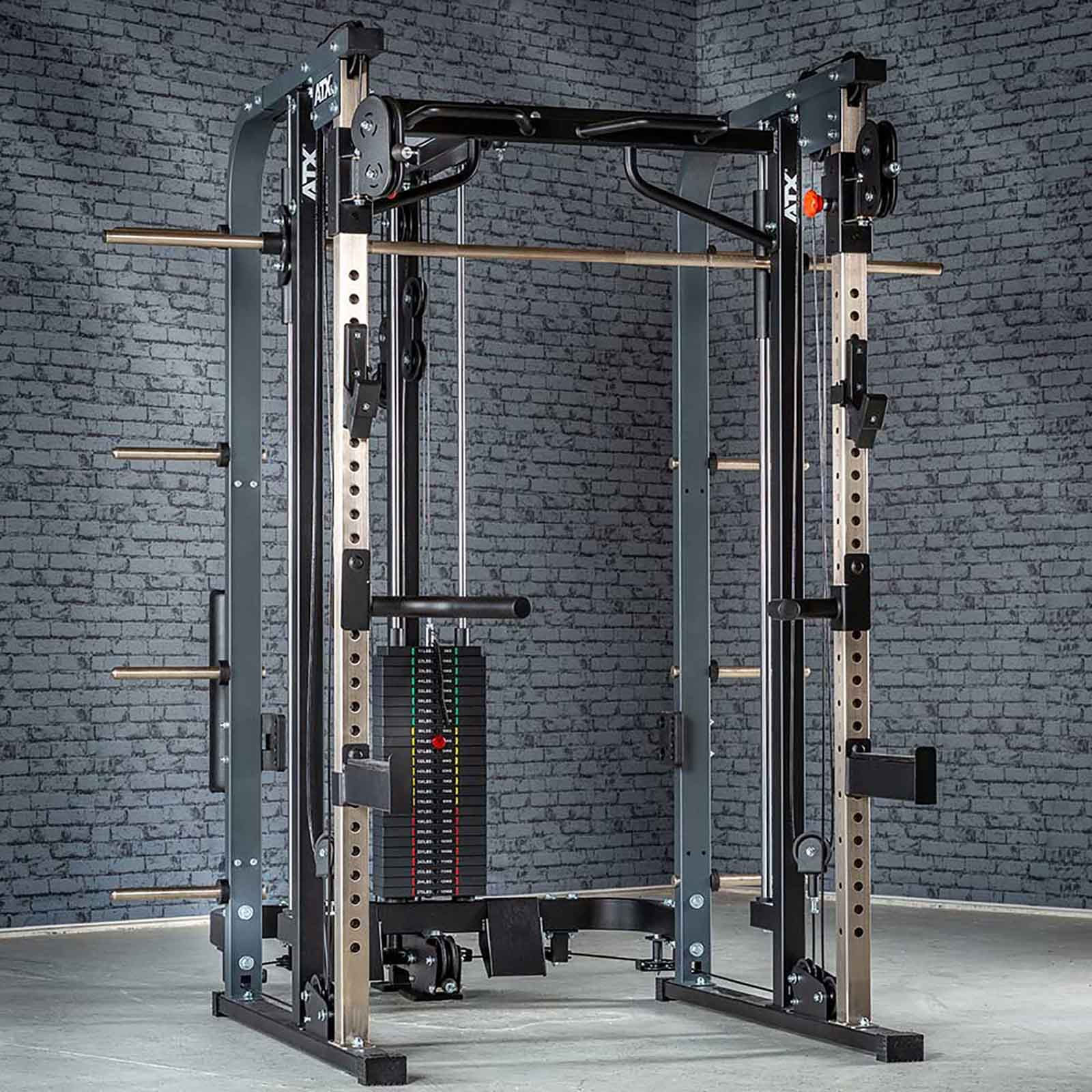 Megatec Smith Cable rack package stack weight