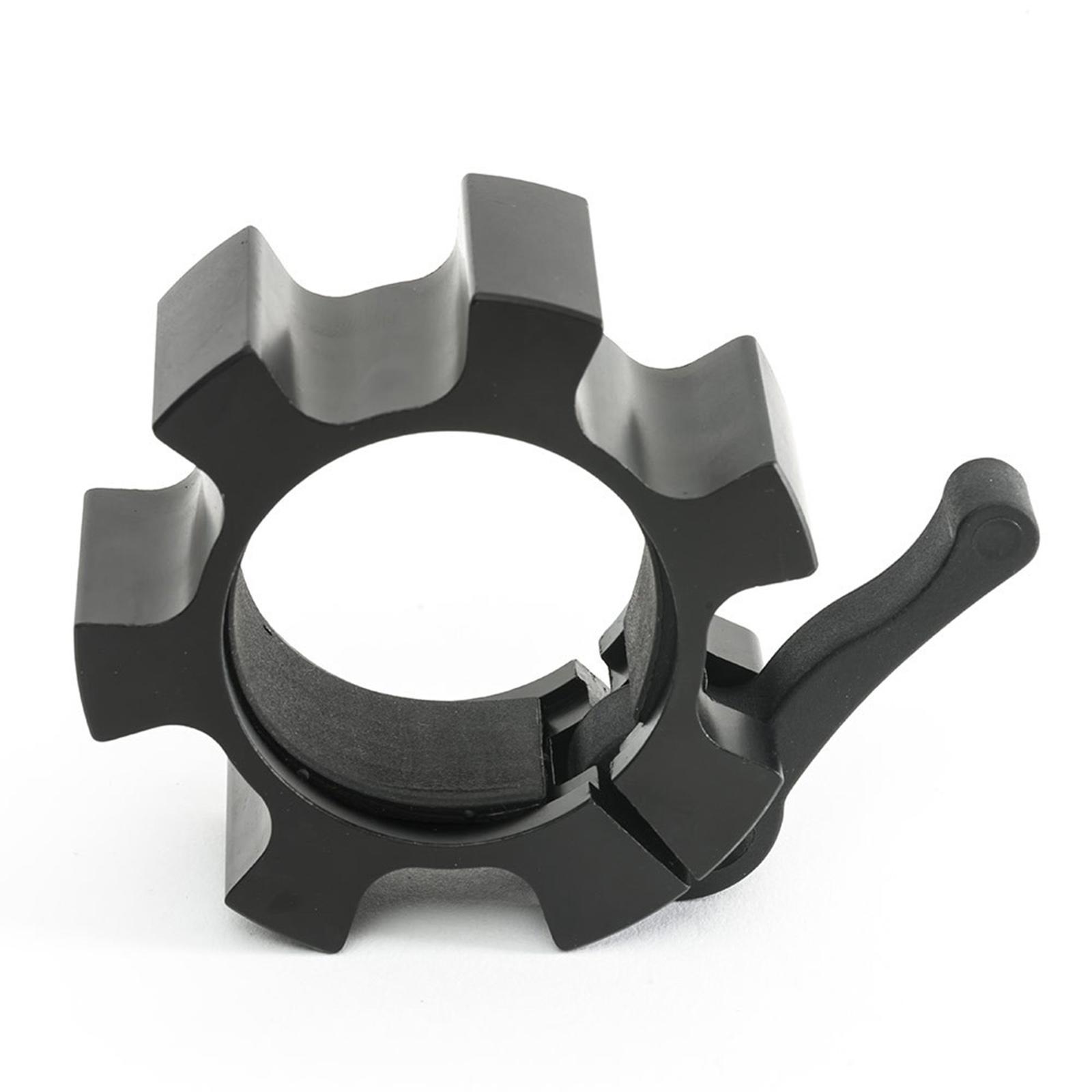 black aluminium clamp collars