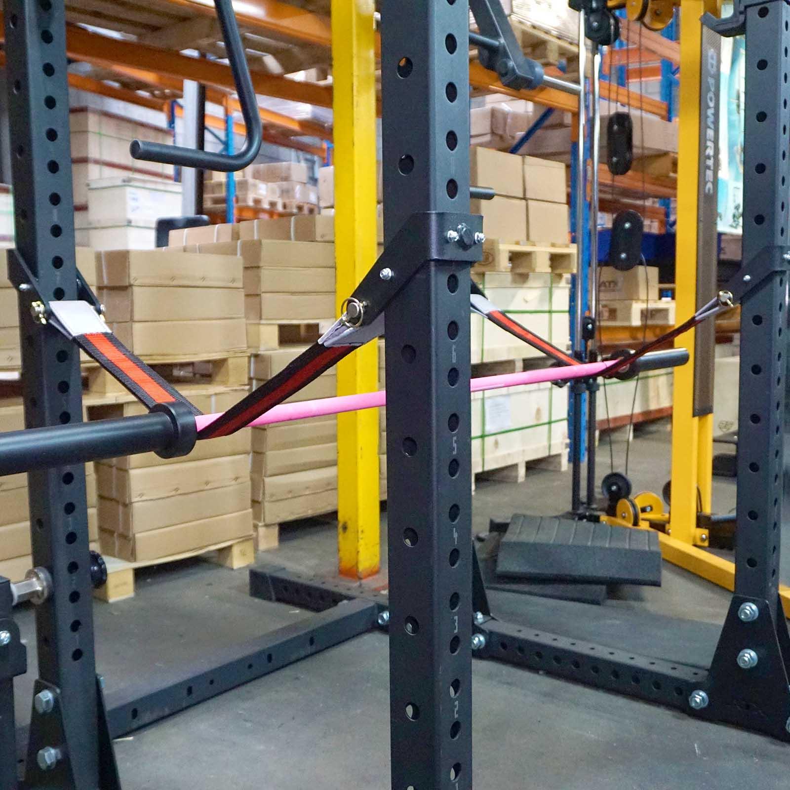 Safety spotter straps