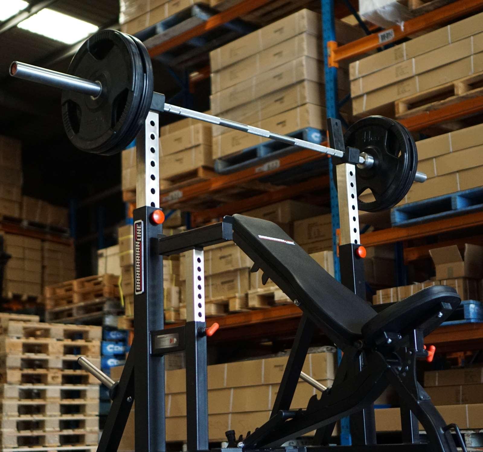 adjustable squat stands