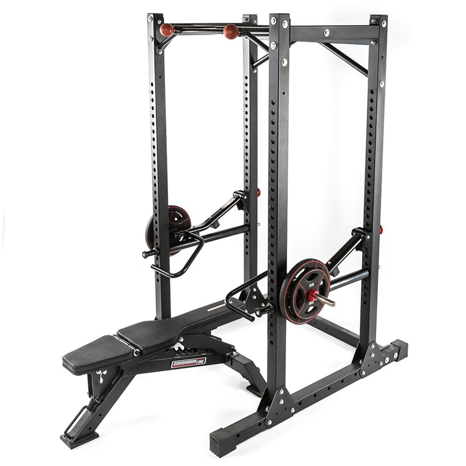 lever gym power rack