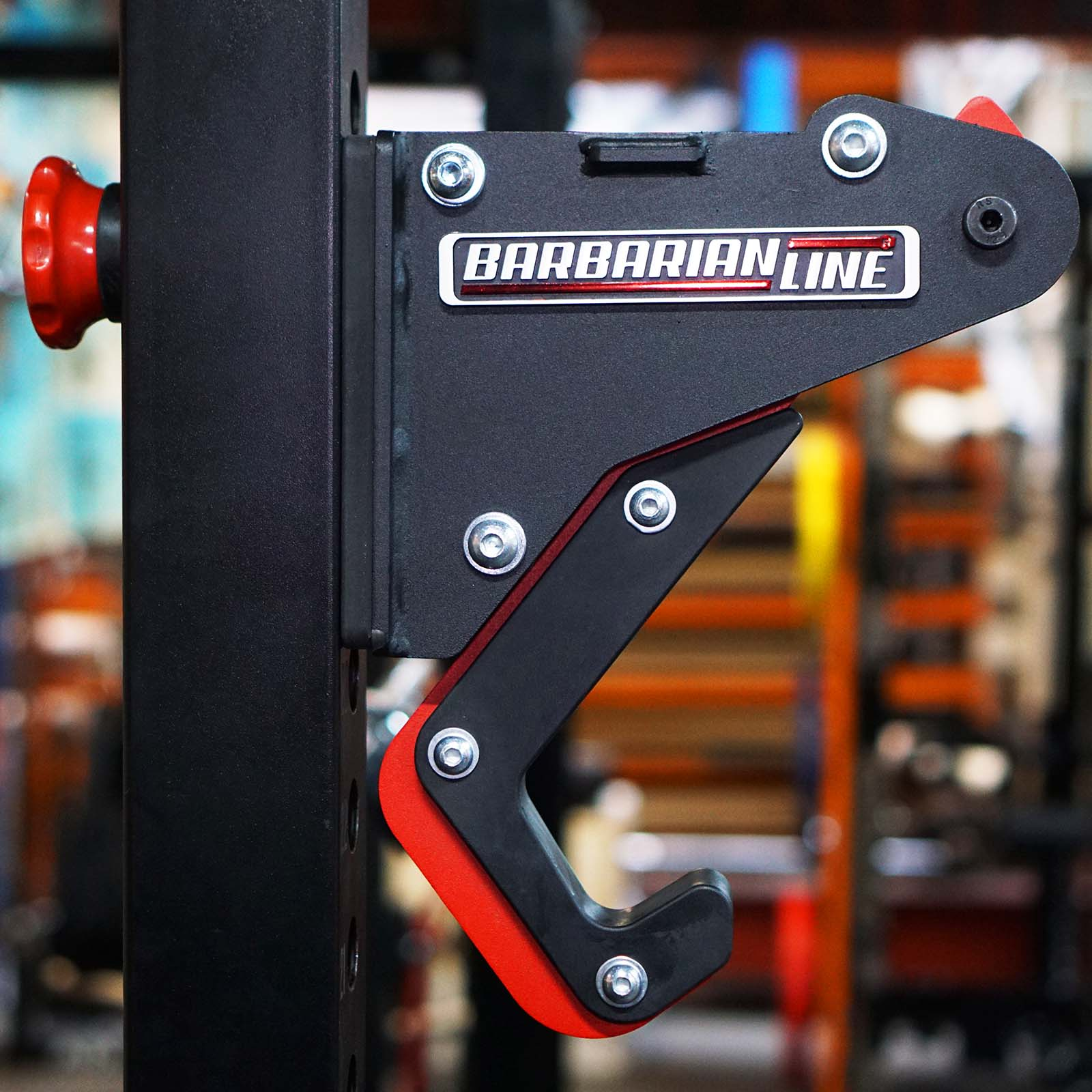 lever gym power rack