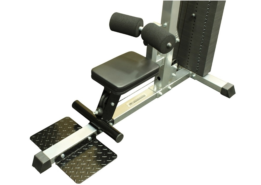 seated rows machine
