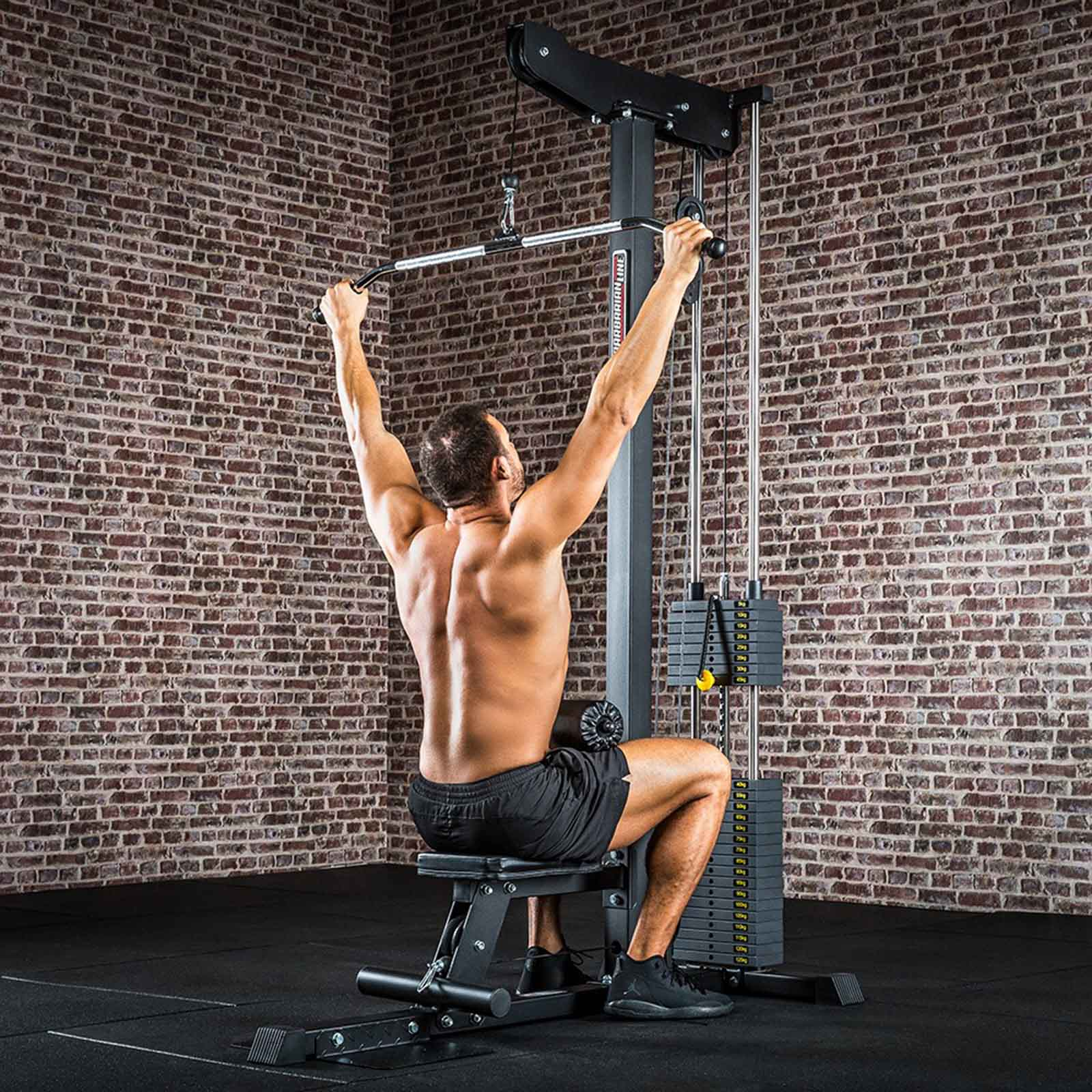 commercial lat pulldown