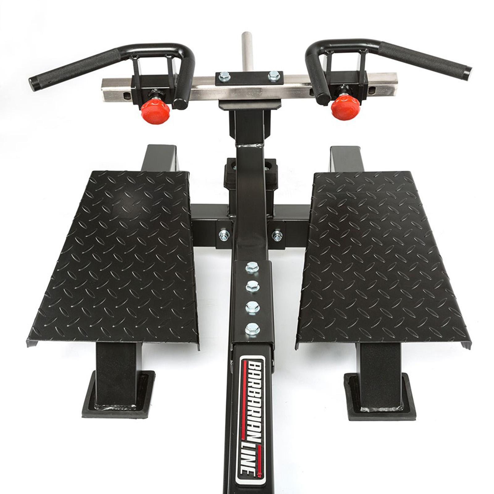 t-bar row platform