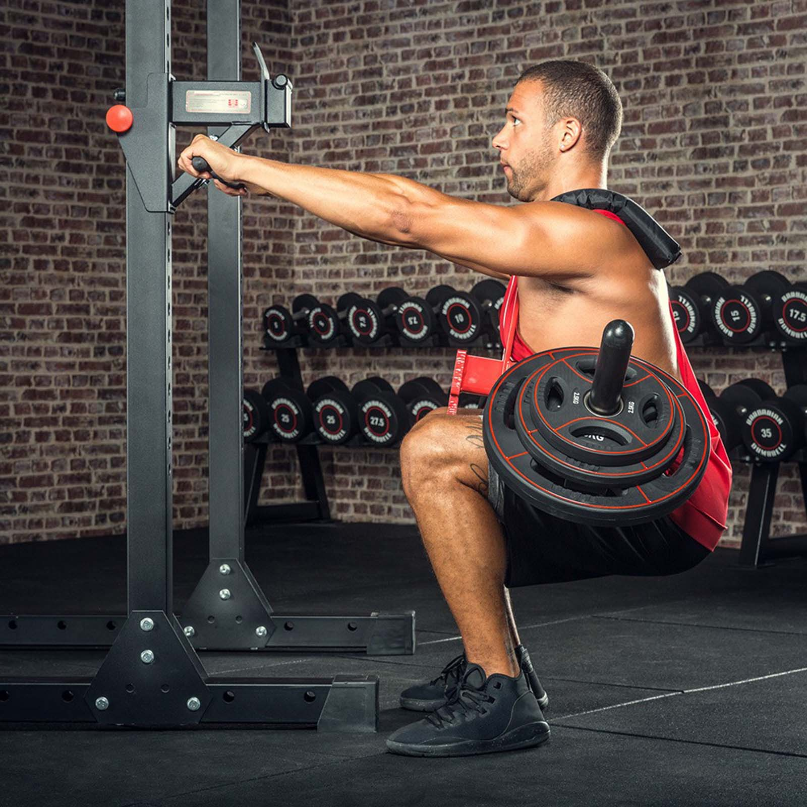 barbarian line squat harness