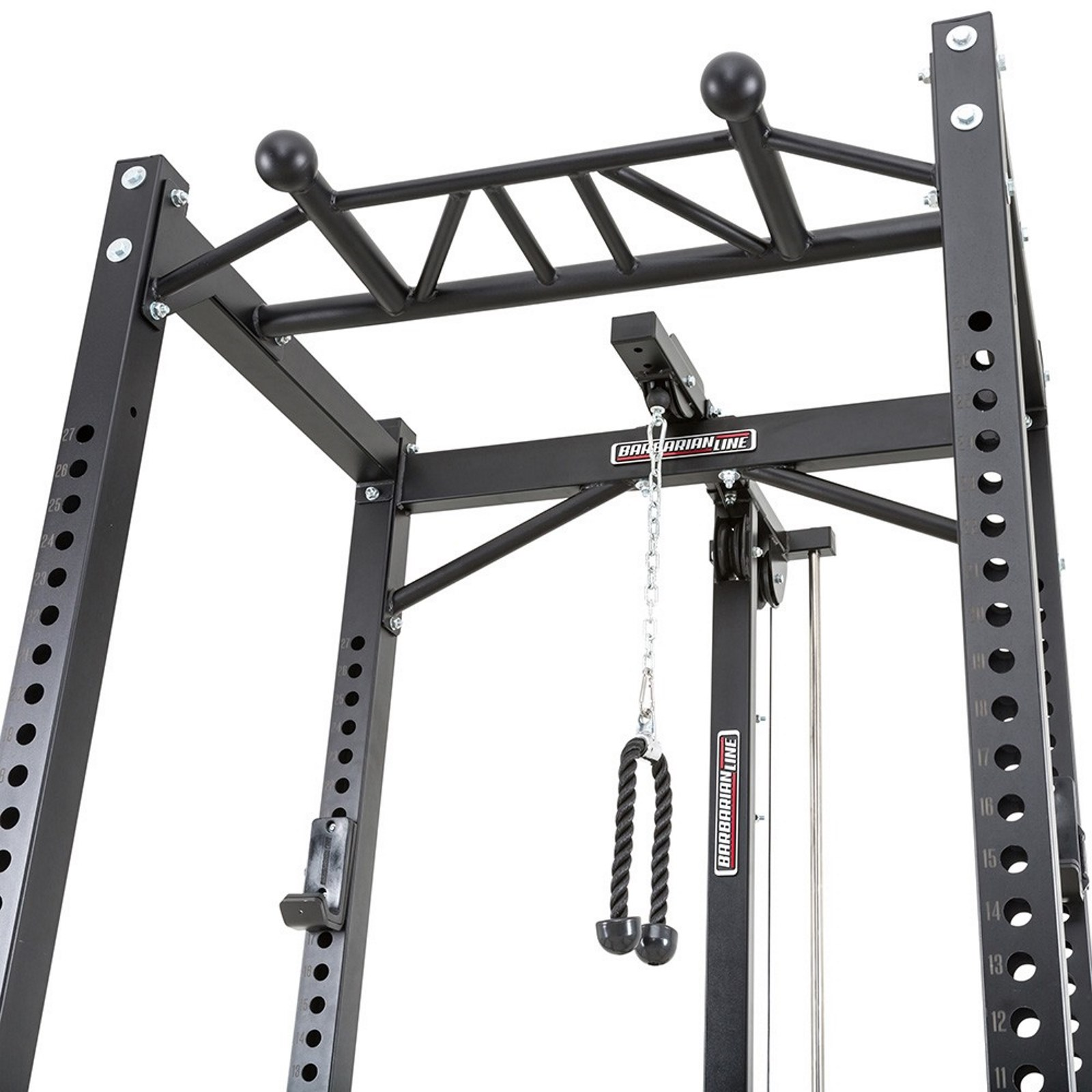 power rack package with lat pulldown