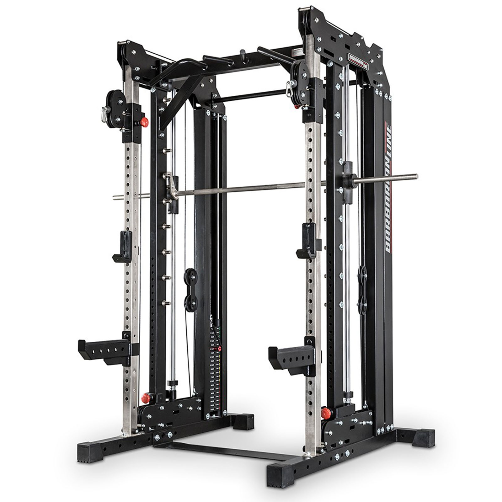 Barbarian Smith Cable Rack Weight Stack Multi Gym