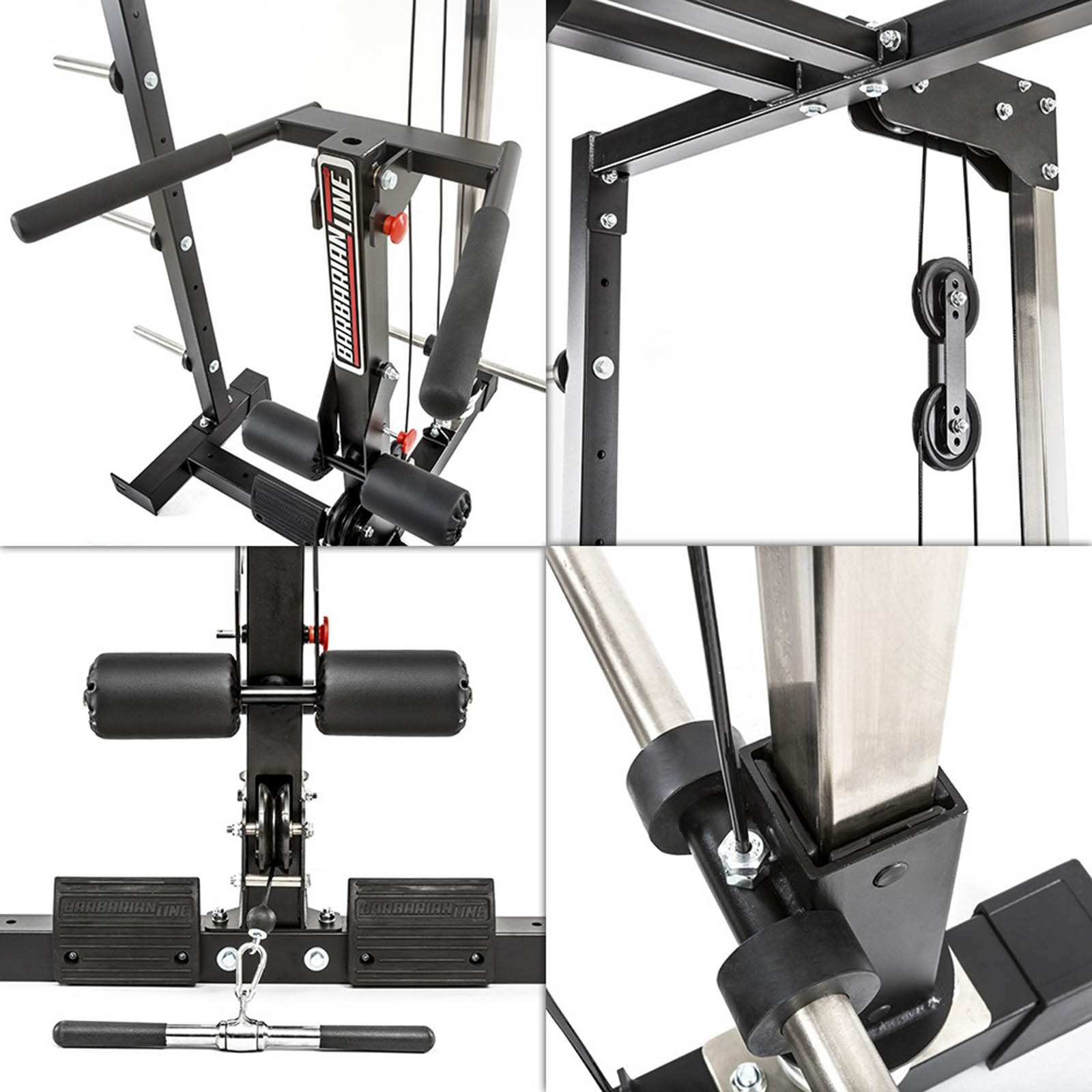smith cable rack features