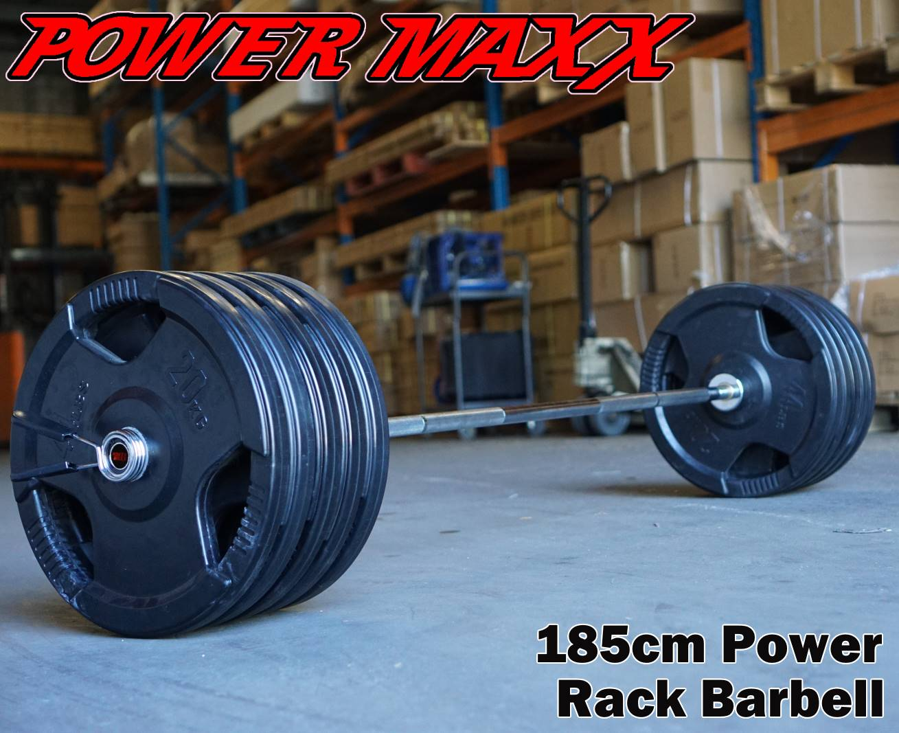 power rack barbell