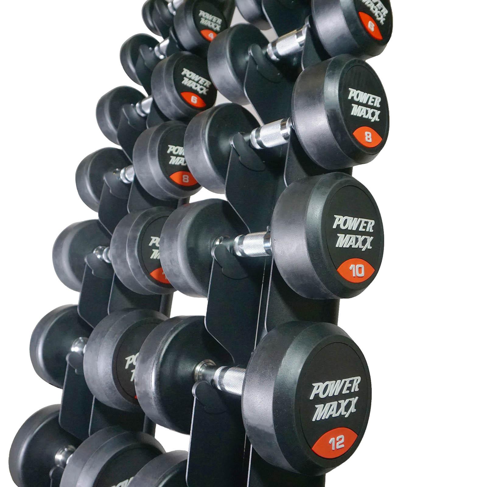 gym dumbbell set