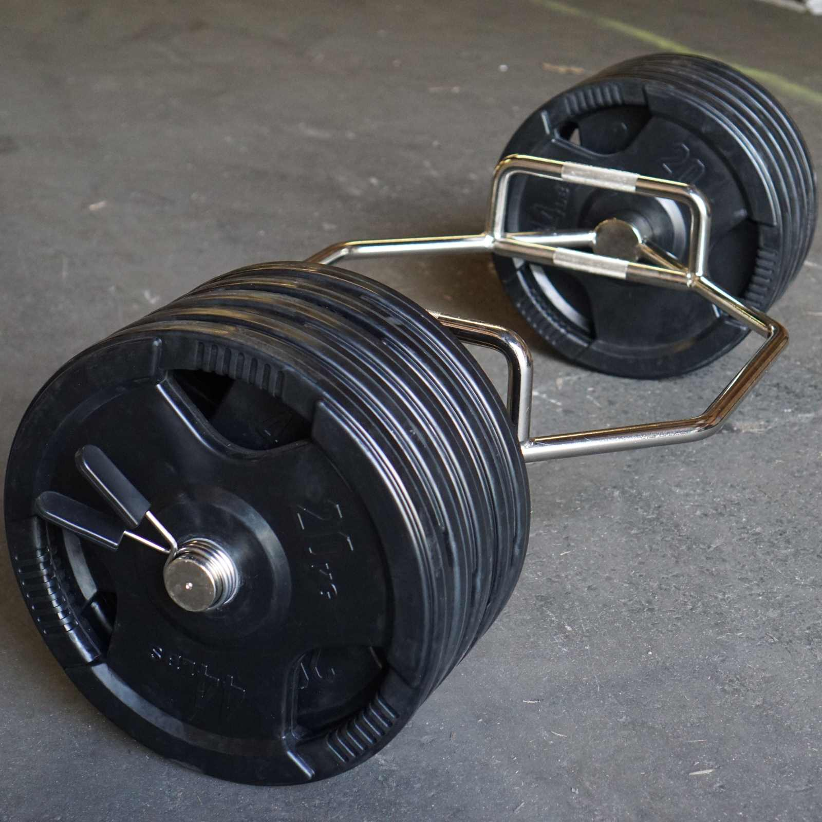 hex trap barbell