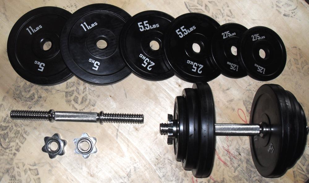 40kg Standard Dumbbell Set