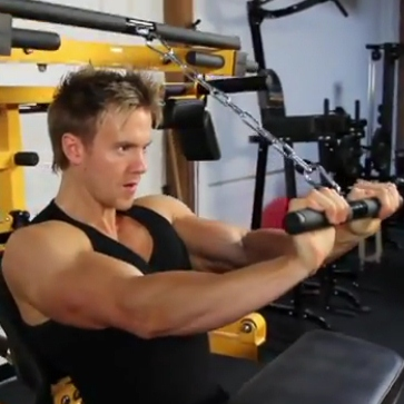 Overhead Seated Tricep ExtensionSeated Tricep Extension