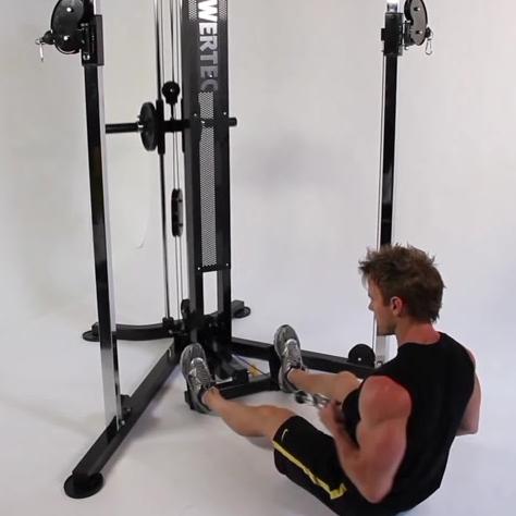 one arm seated row machine