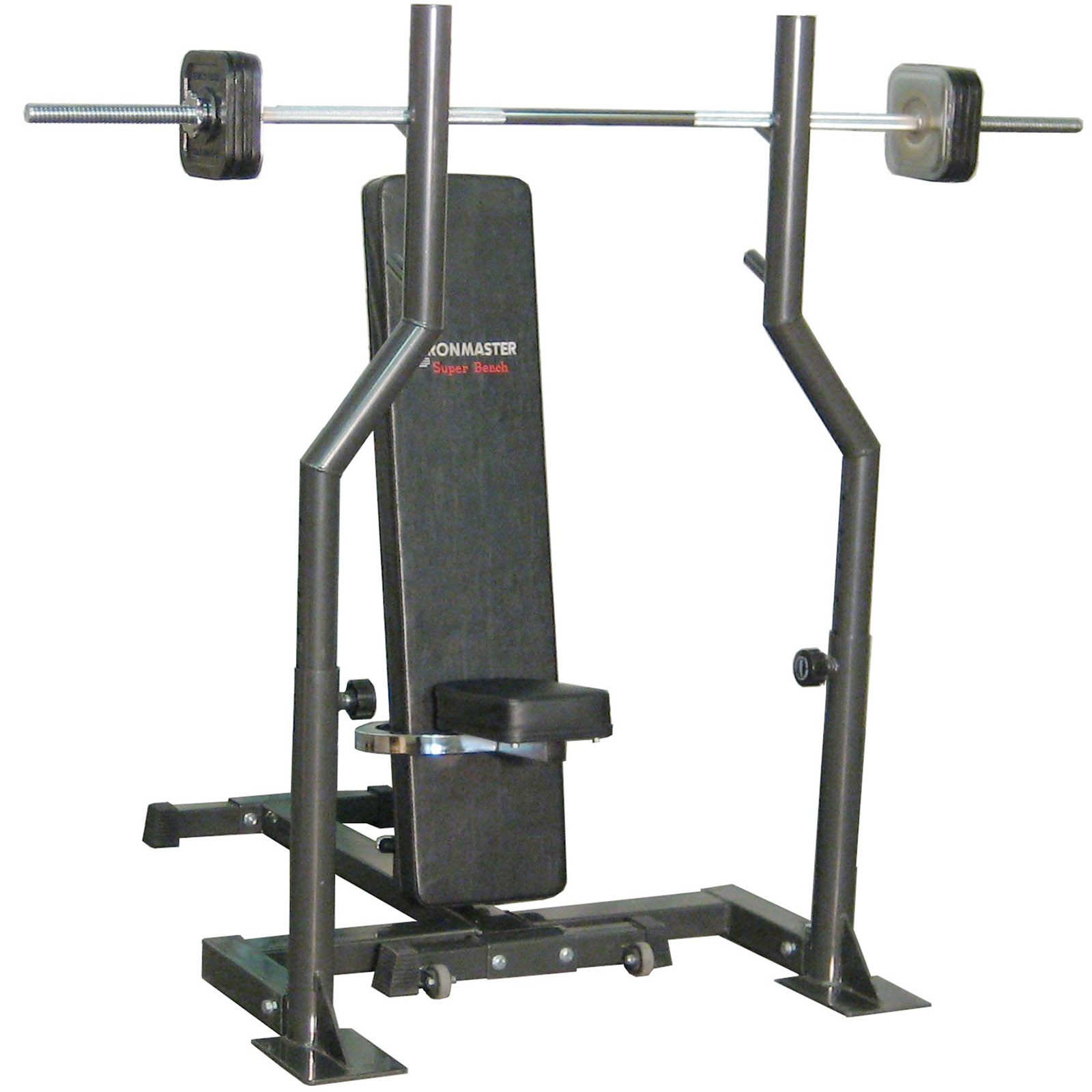 Barbell Attachment for Spotting Stands