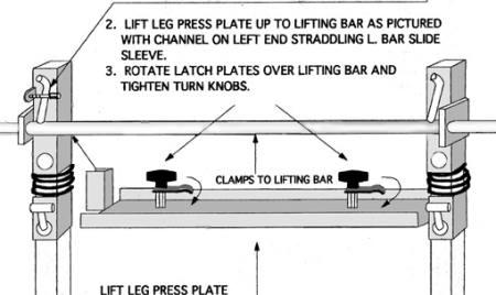 Leg Press Plate