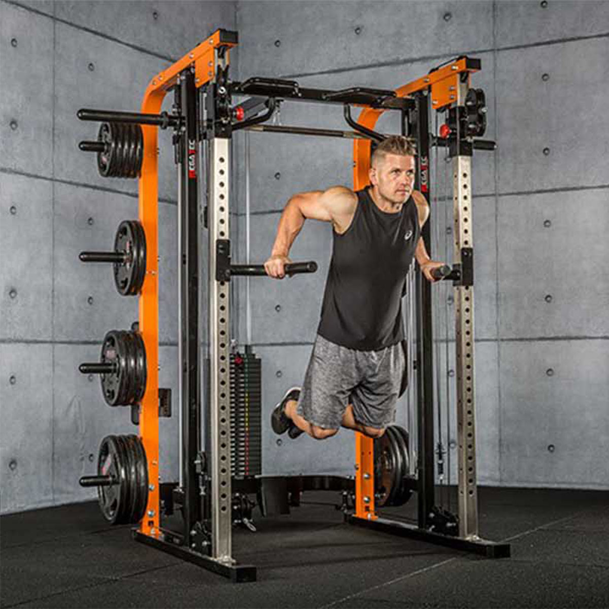 megatec smith cable rack dips