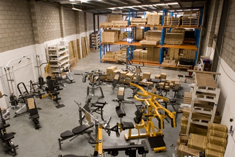 Sams Fitness Equipment Showroom