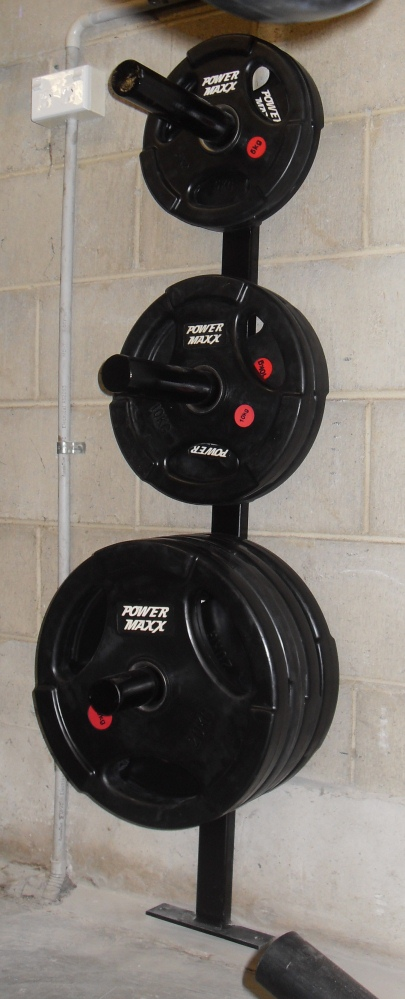 Wall Mounted Weights Rack | Cosmecol