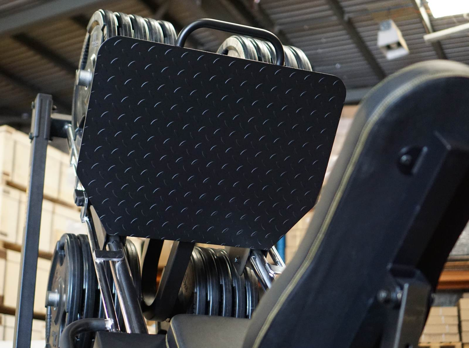 Powertec leg press package