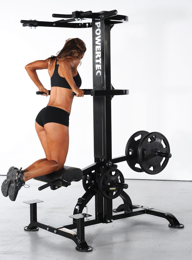 assisted dip and pull up machine