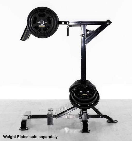 powertec leverage squat machine