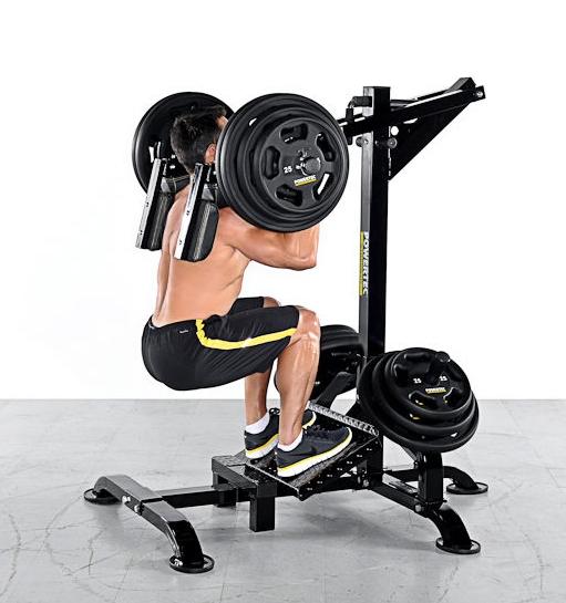leverage squat