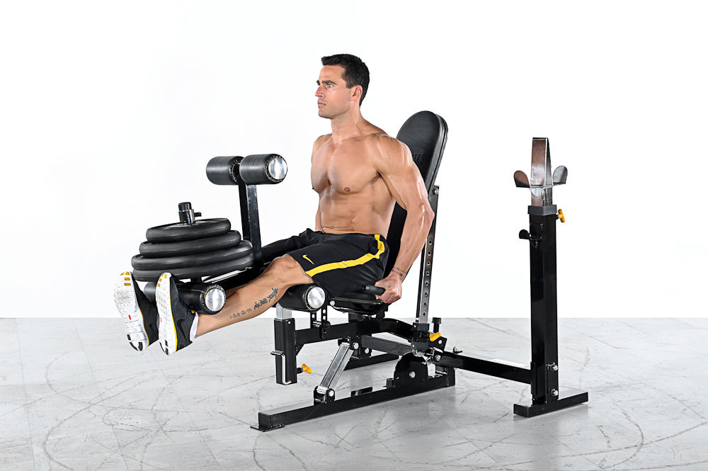 Leg Extension Leg Curl Powertec