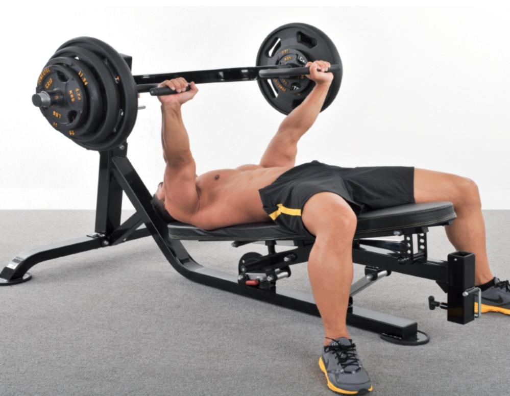 decline squat machine