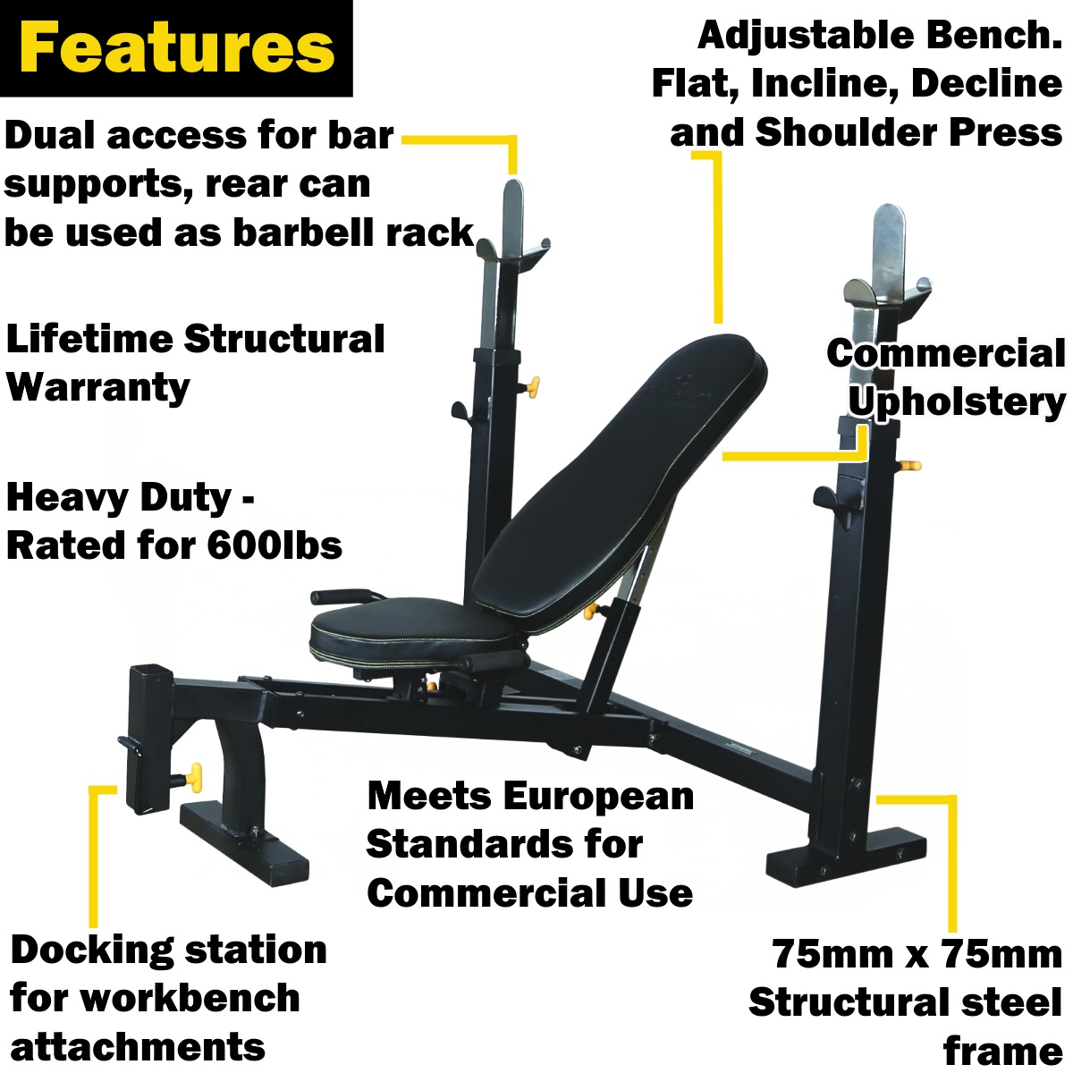 powertec bench press package