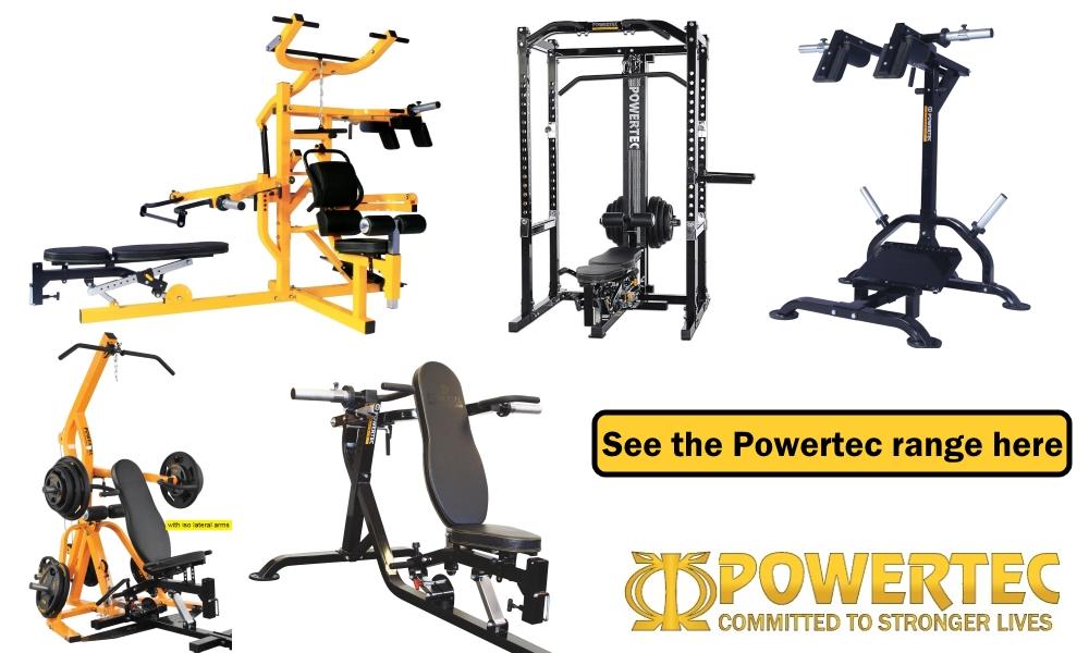 fitness equipment powertec
