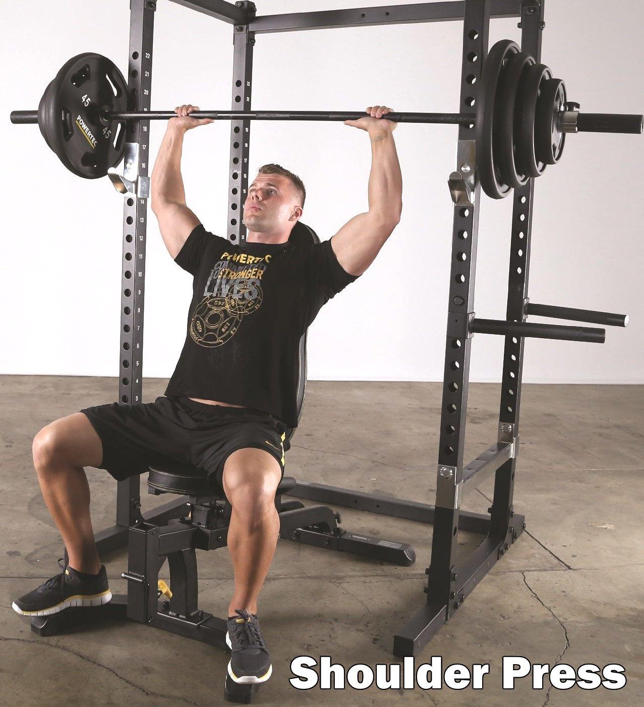 powertec utility gym bench