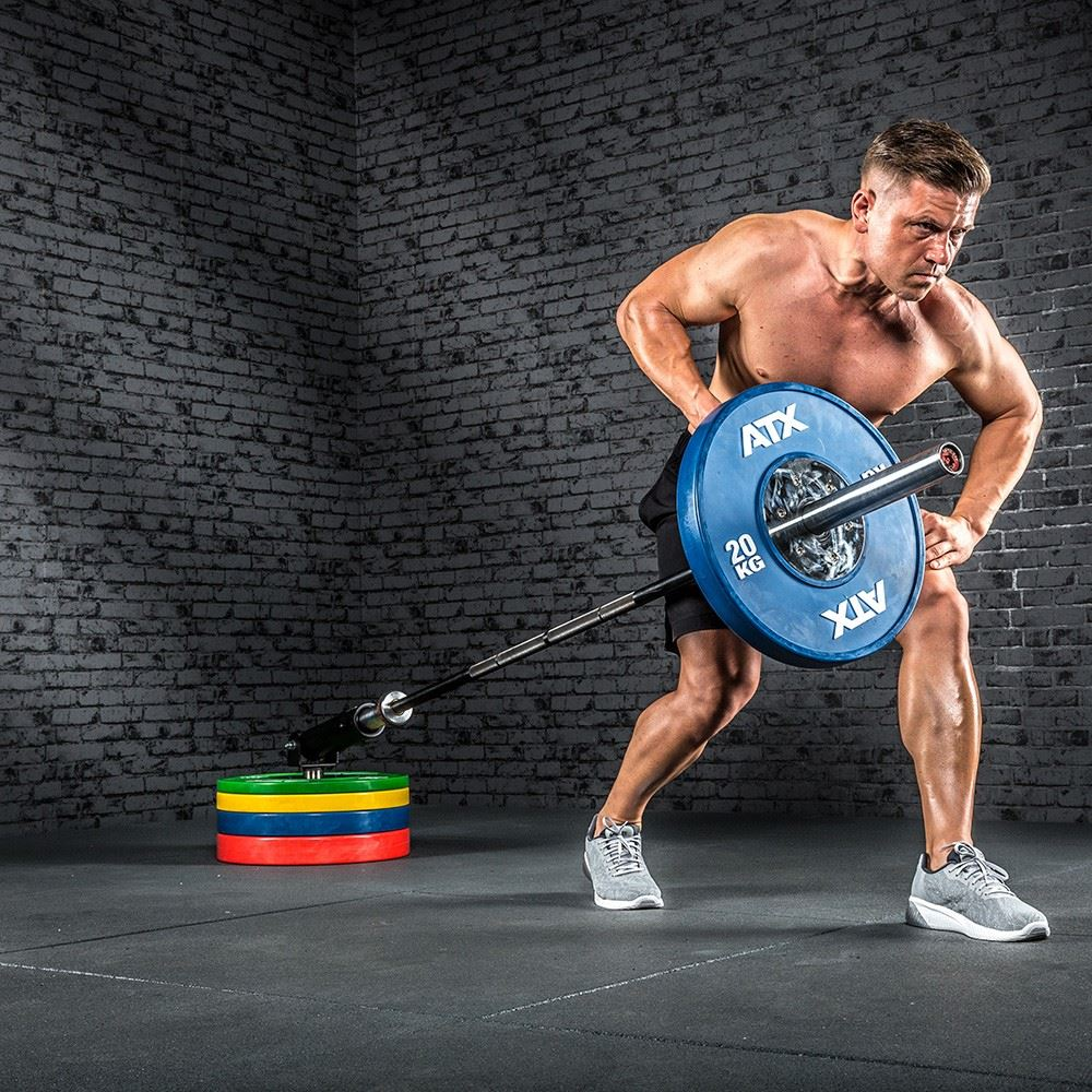 one arm barbell row exercise