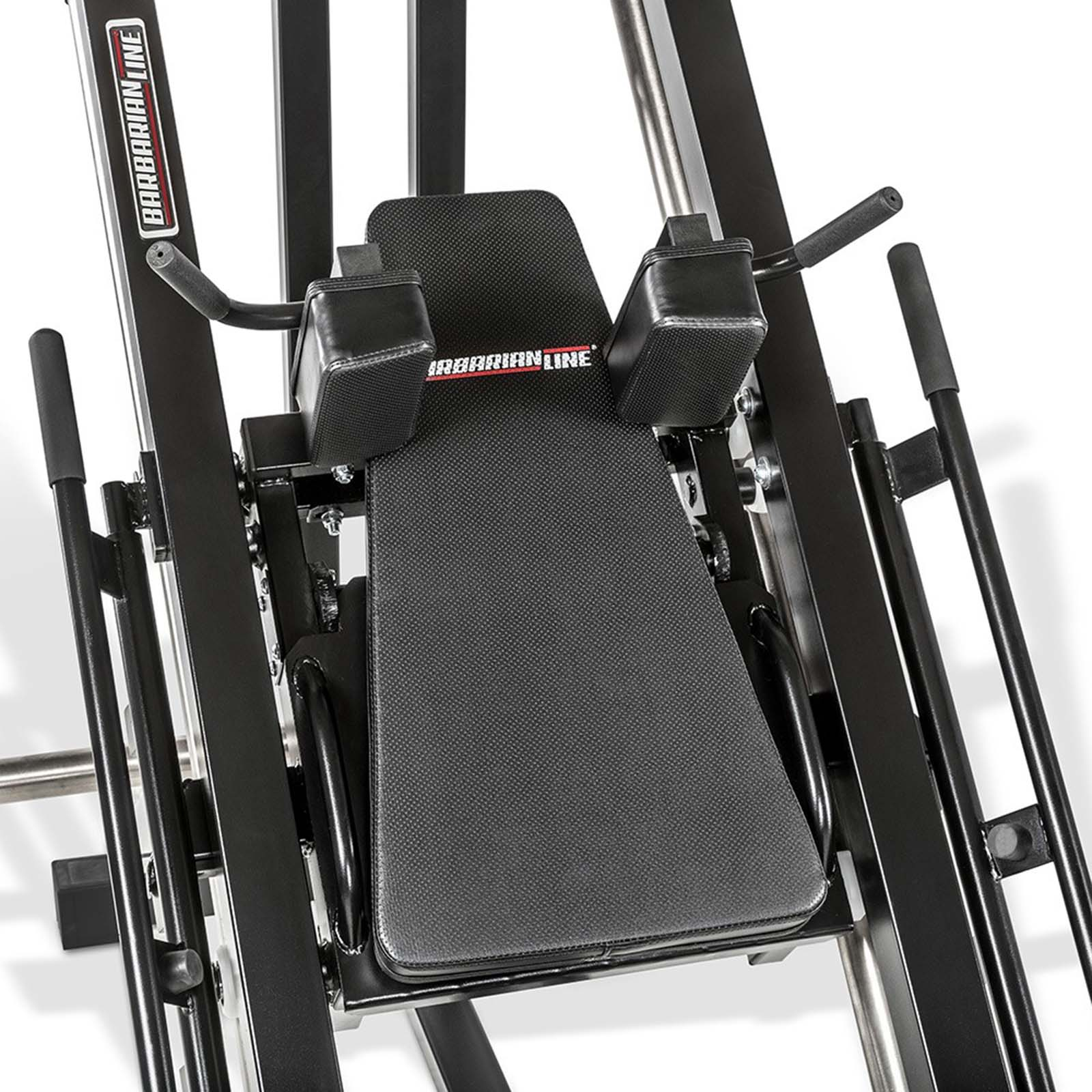 barbarian leg press hack squat