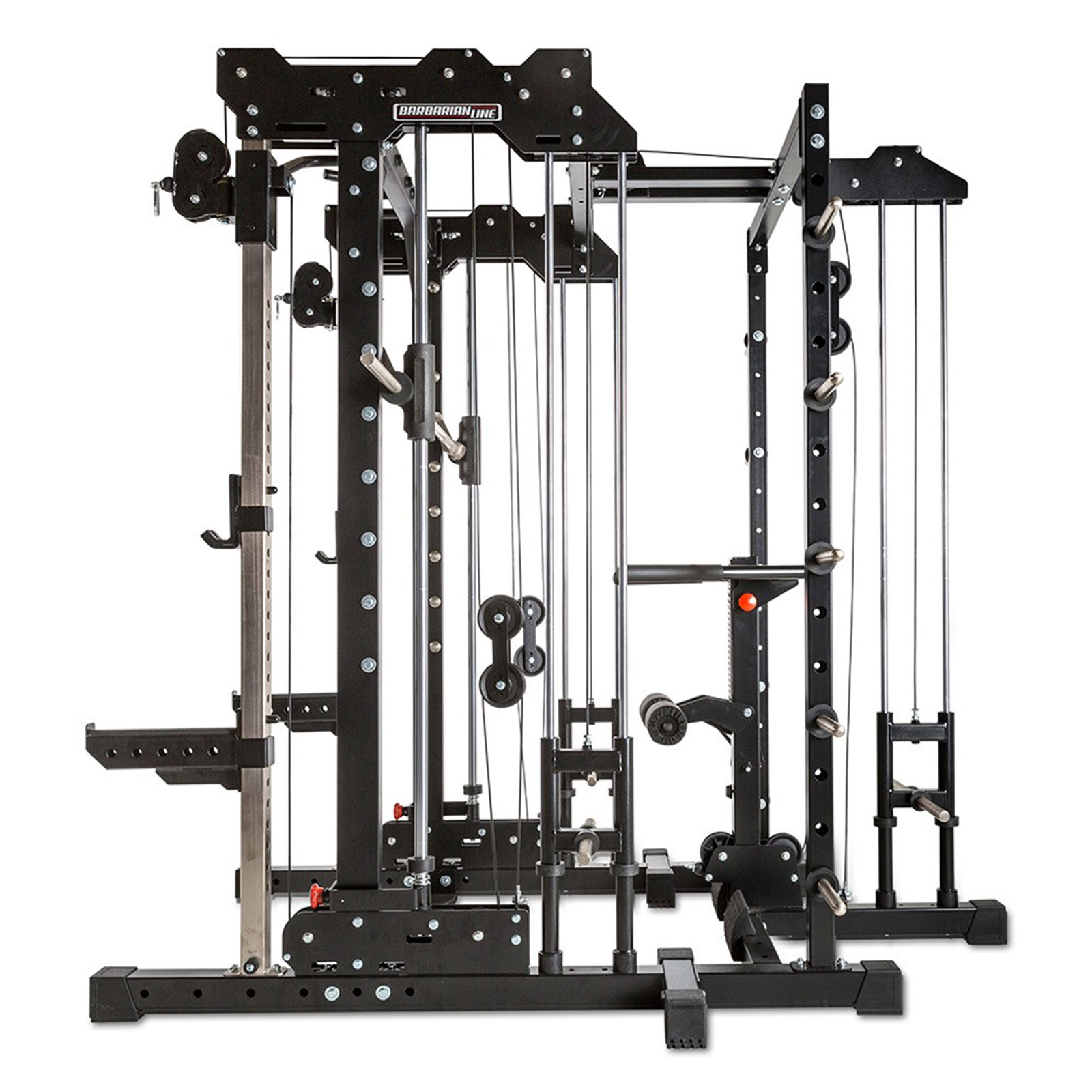 Smith Cable rack package with lat pulldown