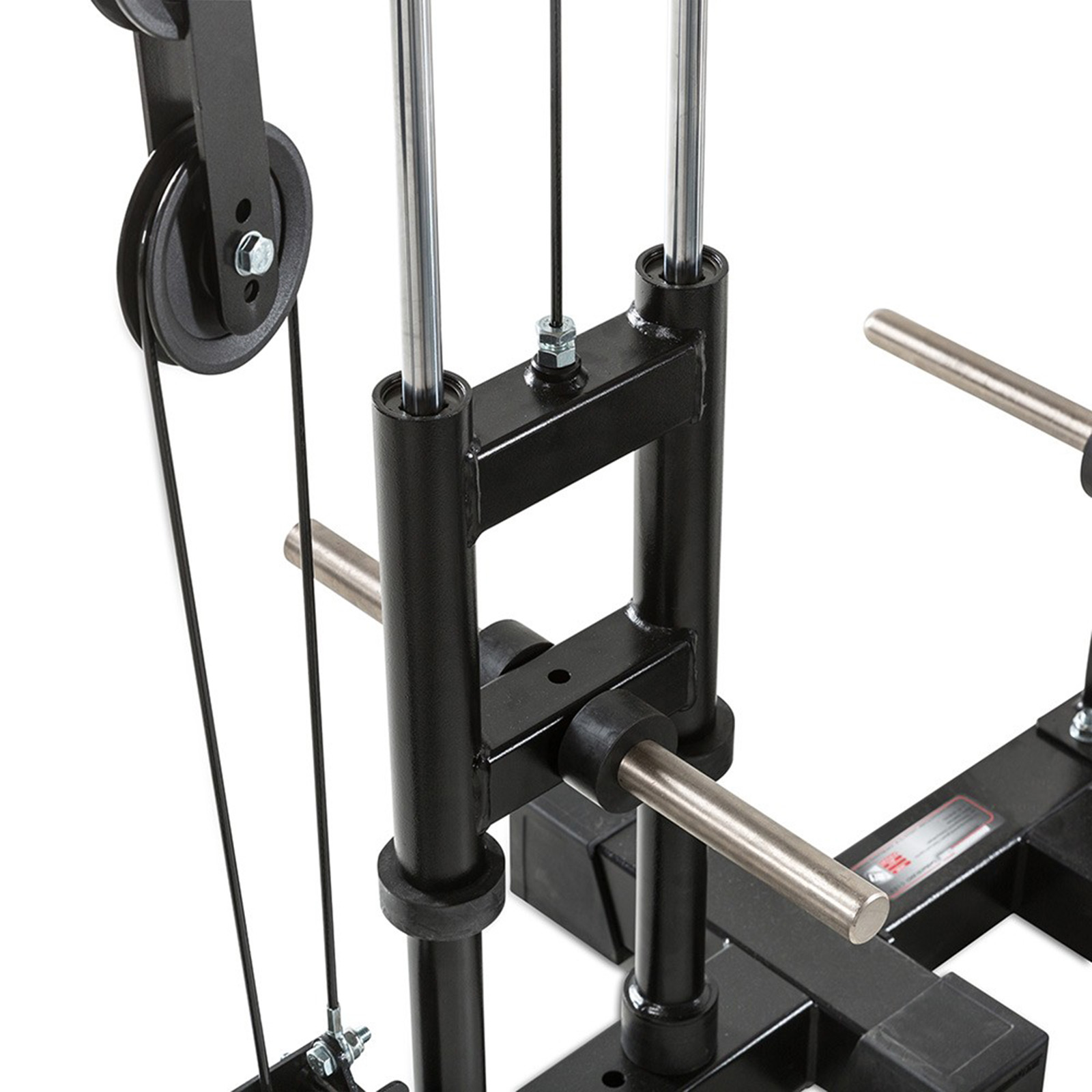 barbarian smith cable rack gym